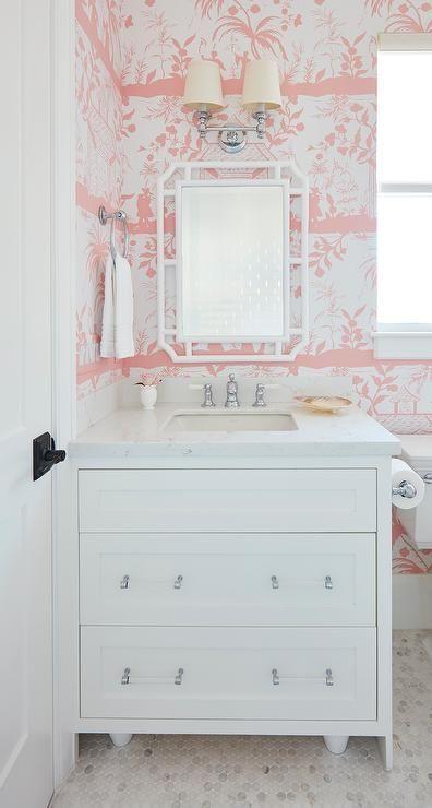 Neutrals and Pops of Vibrant Color – Bathroom Inspiration