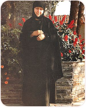 The ever-memorable Abbess, Gerontissa Macrina (1921-1995).