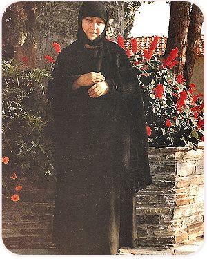 The ever-memorable Abbess, Gerontissa Macrina (1921-1995).
