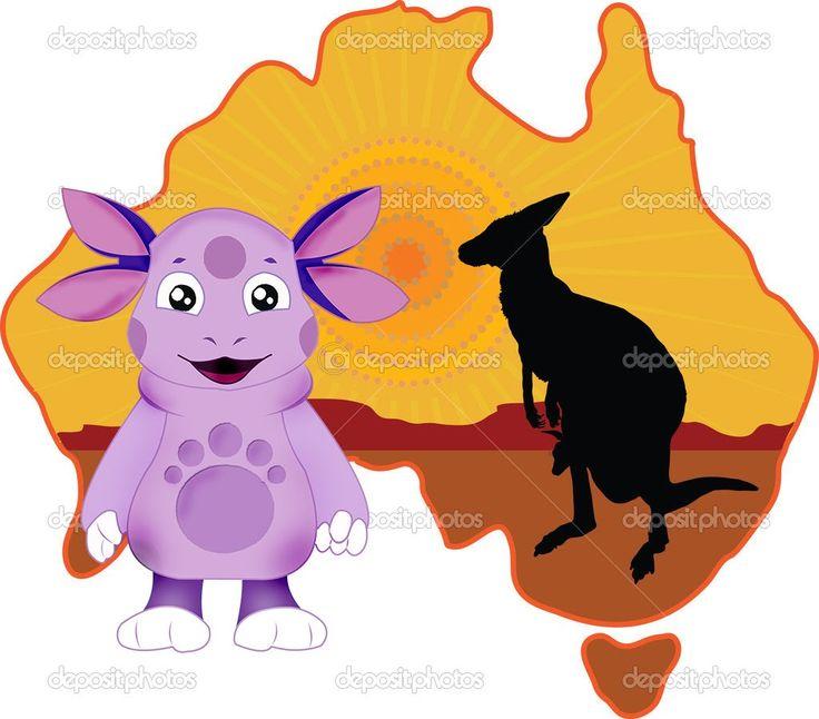 Лунтик - География для детей - Австралия