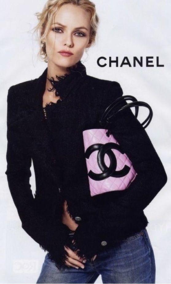 Chanel -- just add black pearls