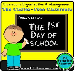 First Day of School {Tips for Organizing and Managing the First Day of School}