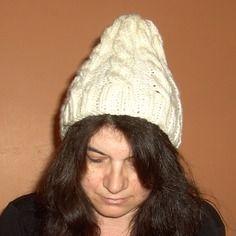 Bonnet doux, tricoté main, pour lui...ou elle !