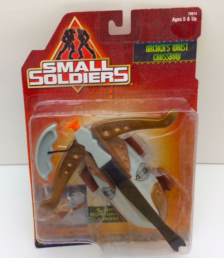 Small Soldiers Archer's Wrist Crossbow by Hasbro 1998 #Hasbro