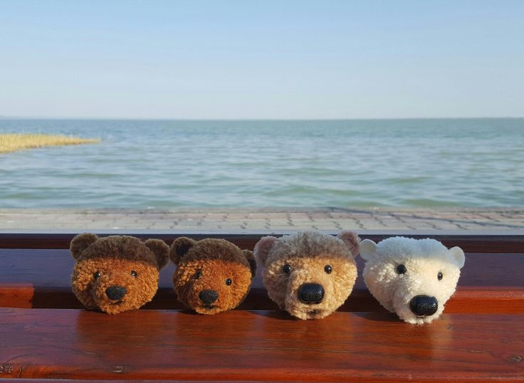 Pompom bears