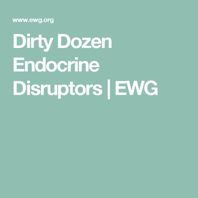 Dirty Dozen Endocrine Disruptors | EWG