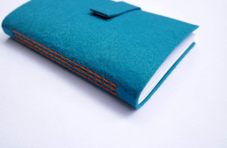#bookbinding #feltcover #handmade sketchbook Keçe kapaklı el yapımı defter