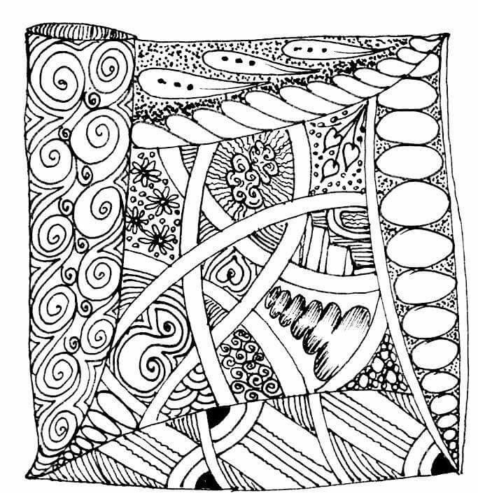 coloring pages roseart lampshades - photo#23