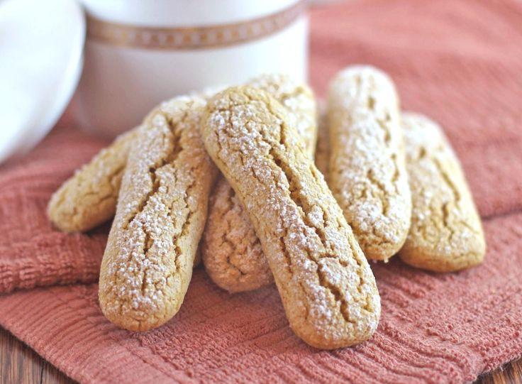 Homemade Ladyfingers | desserts with benefits #vegan #ladyfingers