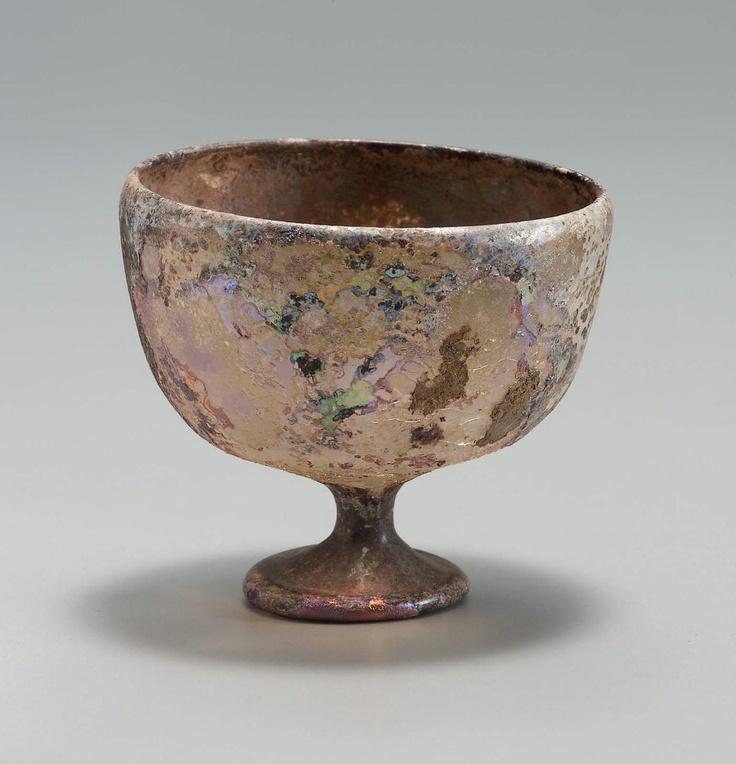 Goblet, 6th-7th century AD, Museum of Fine Arts, Boston…