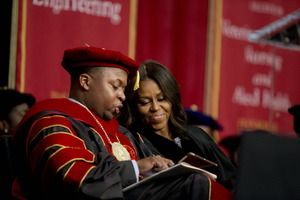 What did Michelle Obama say to Tuskegee University graduates? (+video) - CSMonitor.com