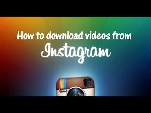 Tutorial : Πως να κατεβάζετε φωτογραφίες στο PC από το Instagram !