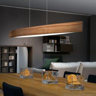 Suspension barre LED en m�tal longueur 97cm Fornes