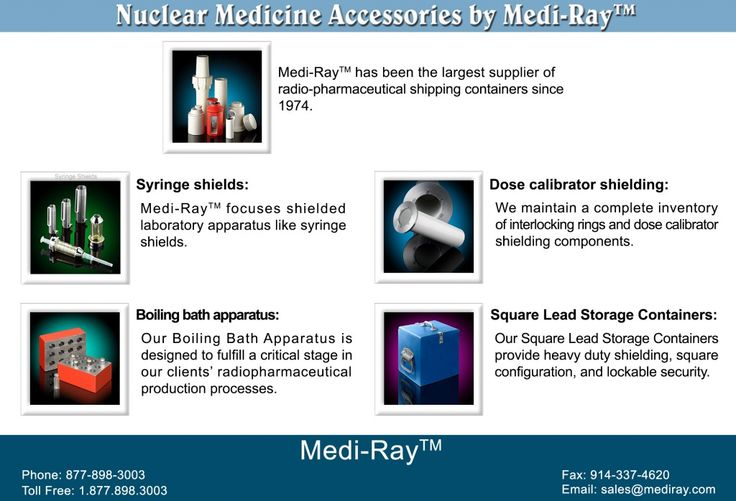 Nuclear Medicine Accessories by Mediray, Inc.