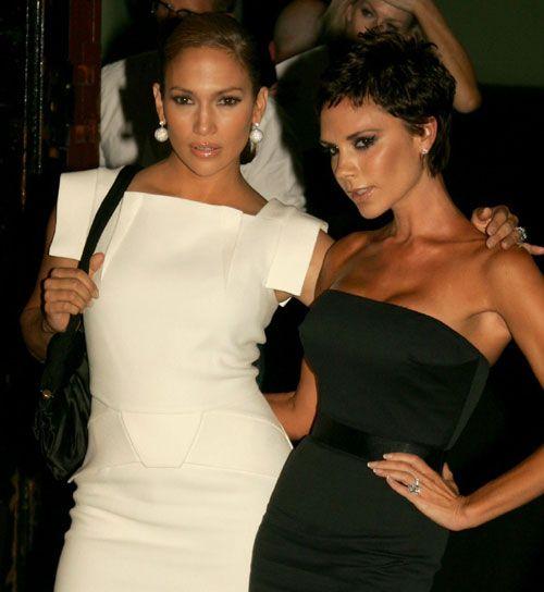 Victoria Beckham e Jenifer Lopes