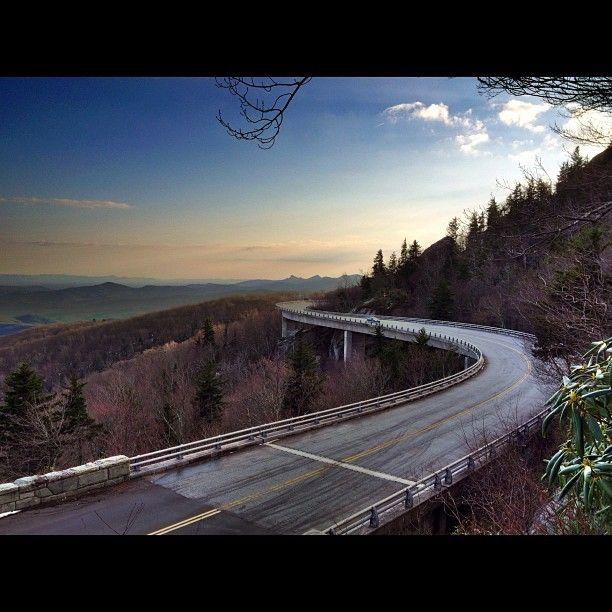 Blue Ridge Parkway in Boone, NC