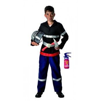 Déguisement SAPEUR POMPIER 8-10 ans   #deguisement #pompier #garcon #enfant #fete #anniversaire
