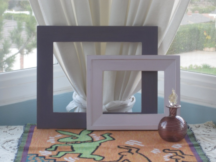 Romantic Cottage Picture Frames Upped & by SpinYourDream on Etsy