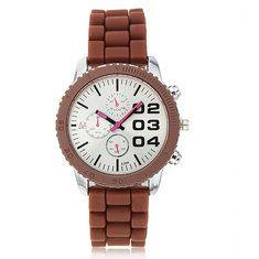 #Banggood Zuimeier моды спорта силиконовый ремешок кварцевые аналоговые часы  (1023145) #SuperDeals