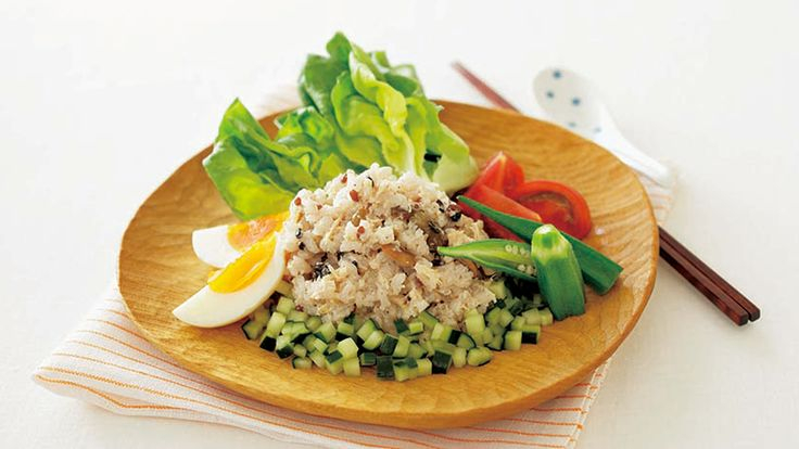 きょうの料理【雑穀ライスサラダ】 - きょうの料理 - NHK