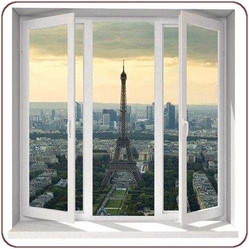 Eiffel Tower wall mural