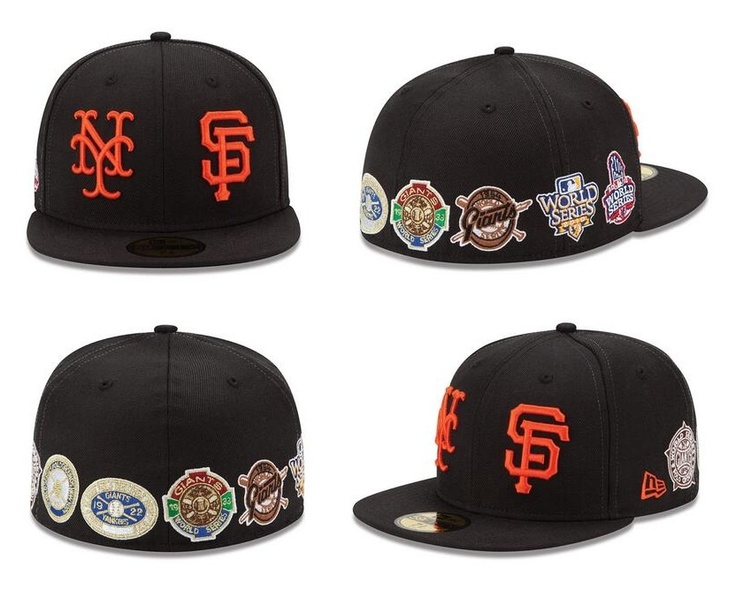 Special Giants 7-Time World Champions Patch cap, featuring patches from the 1905, 1921, 1922, 1933, 1954, 2010 and 2012 World Series.  Only 500 of these caps were made, and the cap will be sold exclusively at the 2nd/King Giants Dugout Store starting on Saturday 4/20/13 at Noon. Apparently, each cap will sell for $200, because you know, they each come with a Genie and 3 Wishes or something...