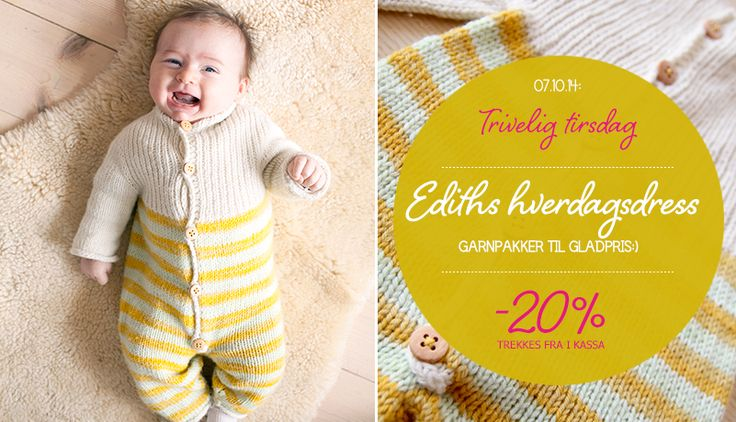 Trivelig tirsdag: Ediths Hverdagsdress / TGIT: Everyday Jumpsuit for Edith