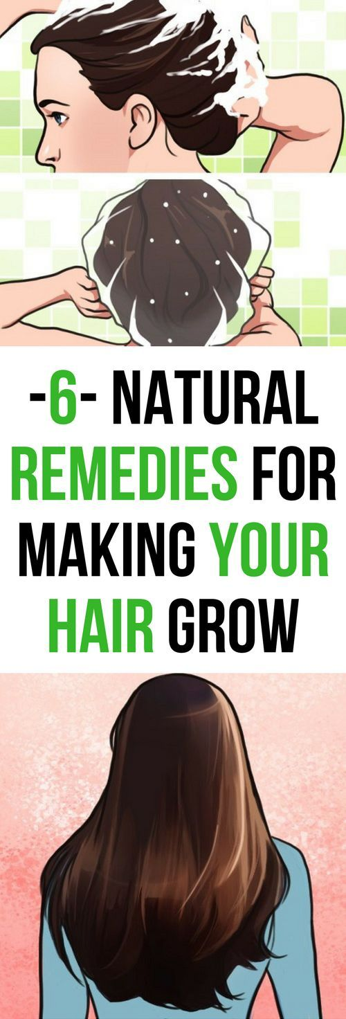6 Natural Home Remedies For Making Your Hair Grow!