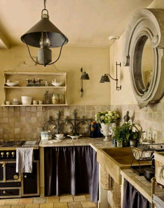 Amazing provence kitchen