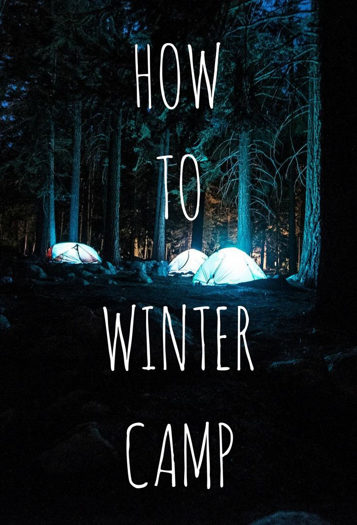 Essential Winter Camping Hacks More
