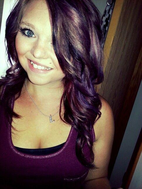 Burgundy, red, plum, purple, blonde hair color; my new hair! :): Hair ...