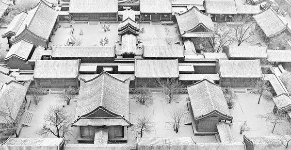 General Introduction to Chinese Courtyards, or Siheyuan-The Layout of Courtyard  Formal courtyards usually refer to one yard with one family and the plane pattern is flexible. The homeowner can build the house according to the size of the land and the household of the family. It can be one-row house, three or four rows of houses, as well as two-courtyard wide cross yard. Small courtyards have 13 rooms, One-row or two-row courtyards have 25 to 40 rooms. The back wall of wing house is also the…