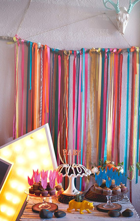 Southwestern baby shower by Grit | 100 Layer Cakelet