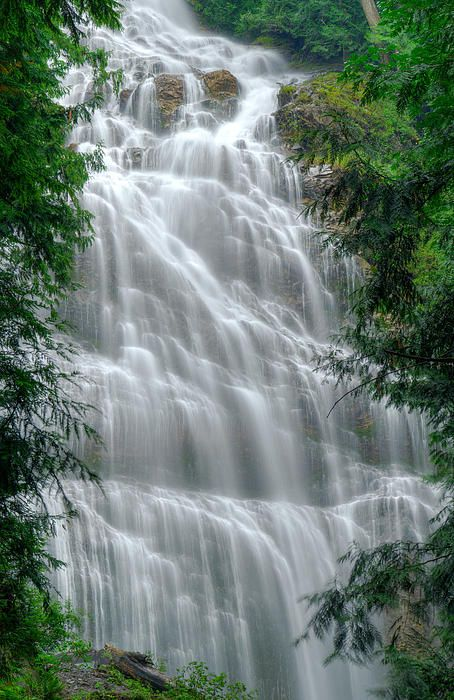 Bridal Veil Falls near Chilliwack, British Columbia, Canada (check!)