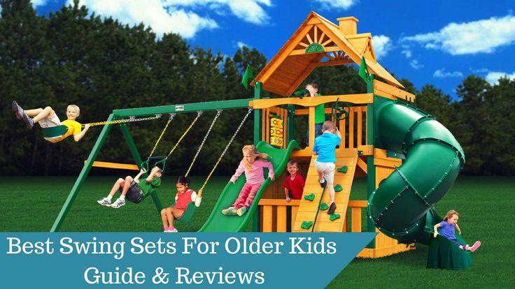 7 Best Cool Swing Sets For Kids Images On Pinterest