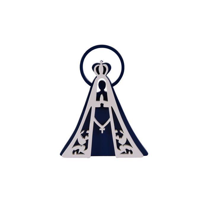 Nossa Senhora Aparecida - Azul Marinho