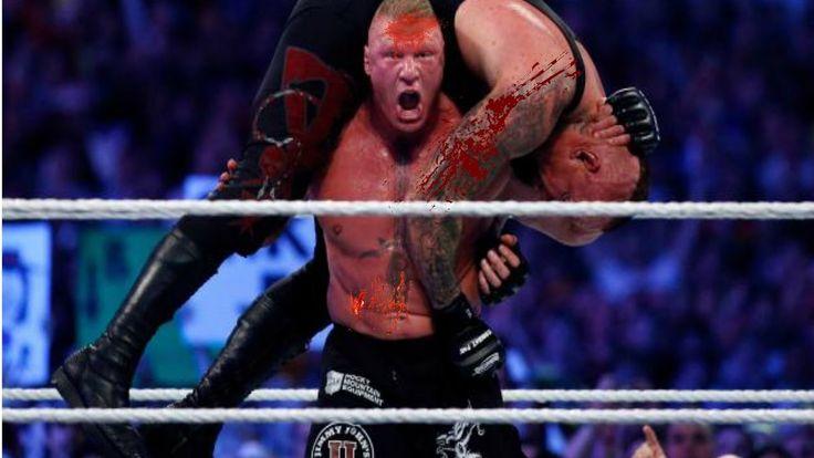 The Undertaker Vs Brock Lesnar Wrestlemania 30 Full Match Hd   The End O...