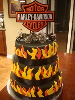 113 best Harley Davidson Cakes images on Pinterest Cake wedding