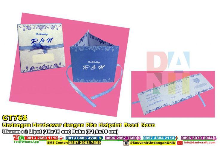 Undangan Hardcover Dengan Pita Hotprint Rossi Nova HUB: 0852-2855-8701 (WA/Telp) #UndanganHardcover #HargaHardcover #souvenirUnik