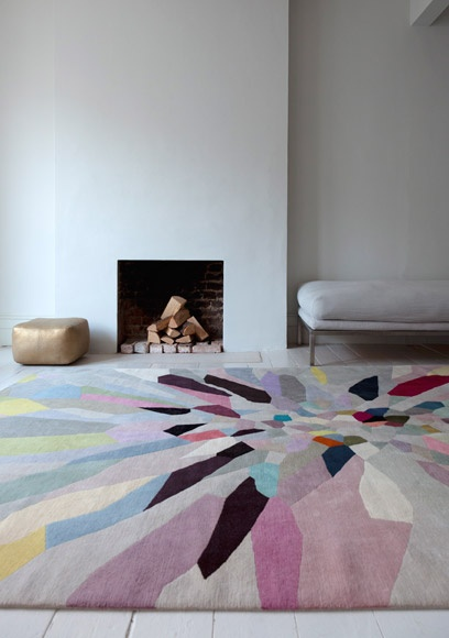 colorful rugs to brighten the room