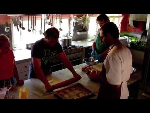 my cooking classes at Villa la Lodola