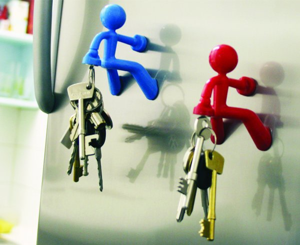 Magnetic key holder people. I really need 1 of these