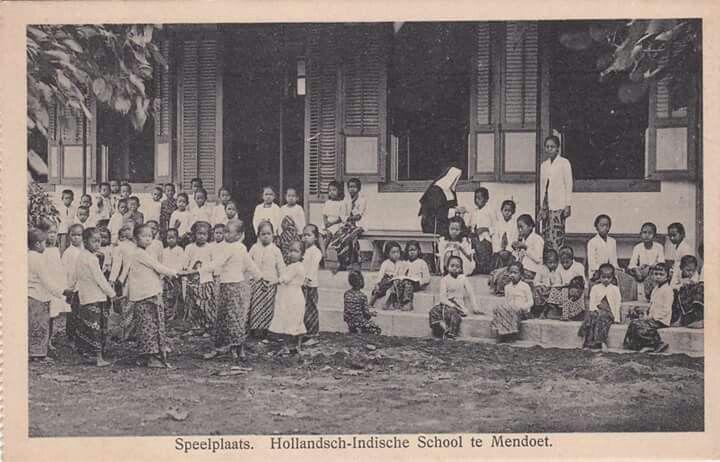 Sebuah sekolah di Magelang