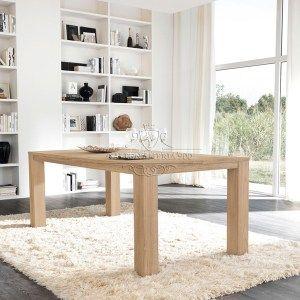 Tavolo da cucina in legno massello di abete o castagno