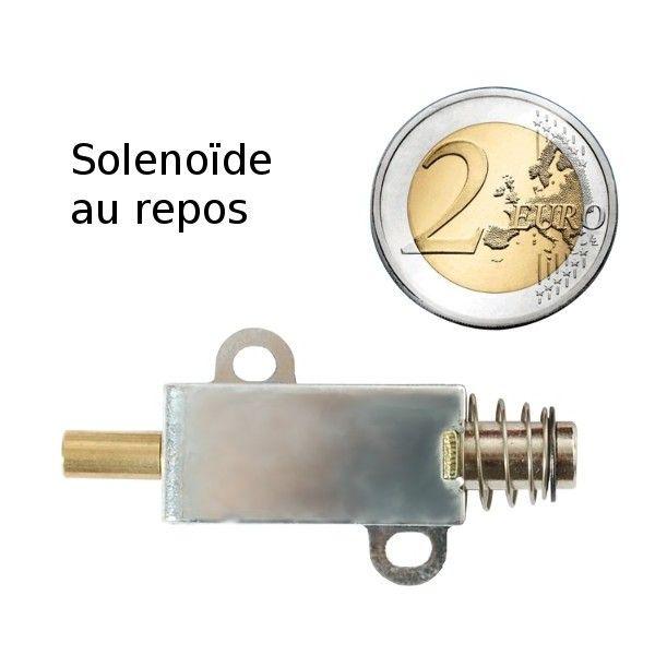 Petit solénoide Push-Pull - MicroControleur Hobby - MC Hobby sprl