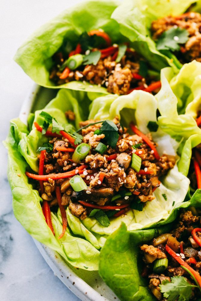Asian Turkey Lettuce Wraps Are Packed With Intense Flavor