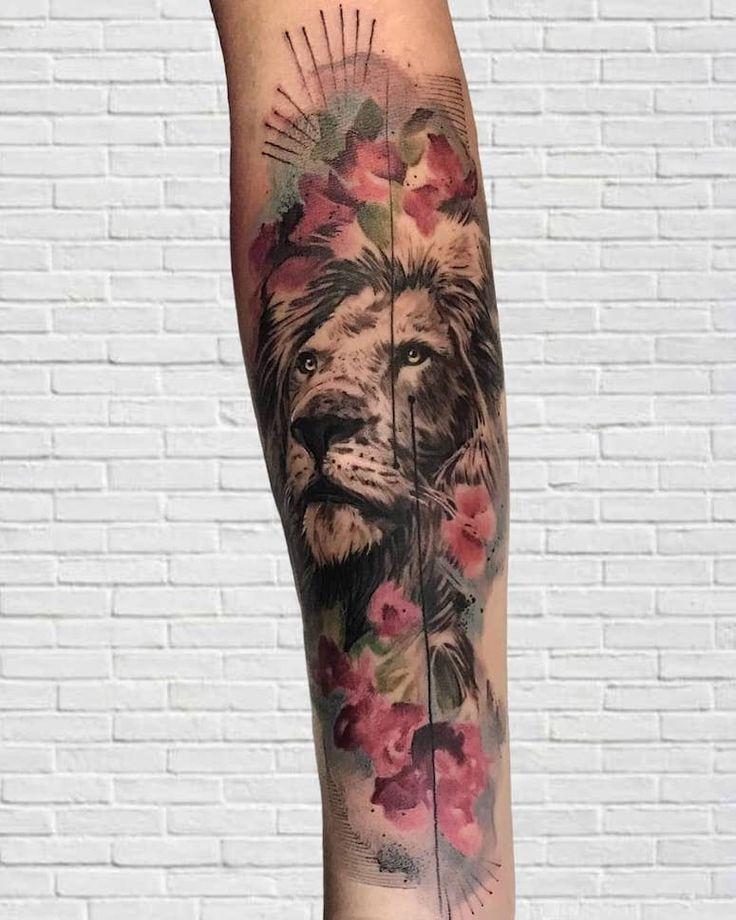 25 tatuagens INCRÍVEIS para quem é do signo de leão | Tatuagens incríveis, Tatuagens, Tatuagem signos