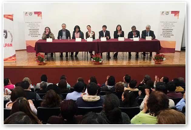Firman Convenio de Colaboración entre Universidad Autónoma Chapingo y Delegación Tlalpan