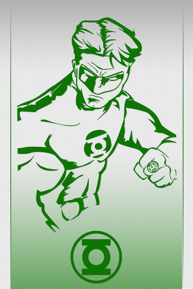 Green Lantern by crost92