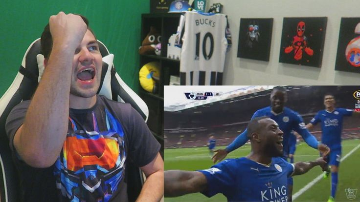 REACTING TO MANCHESTER UNITED 1 - 1 LEICESTER CITY!!!